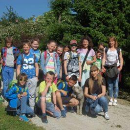 Besuch der Grundschulklasse 5 aus Stern im Gadertal