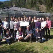 SOWIGym Bruneck Klasse 1dS überreicht Spende