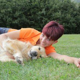 Spende von Hundetrainerin Kristina
